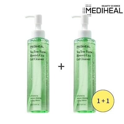 [Mediheal メディヒール] ティーツリーバイオムブレミッシュシカジェル クレンザー 1+1 / Tea Tree Biome Blemish Cica Gel Cleanser