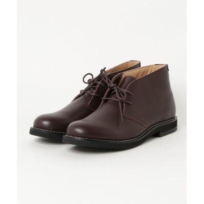 ブーツ [本革使用]クラシカルなデザインで様々なスタイルに取り入れやすいチャッカーブーツ
