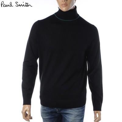 ポールスミス PAUL SMITH タートルネックニット セーター トップス ブランド メンズ M2R 145U E21001 ブラック