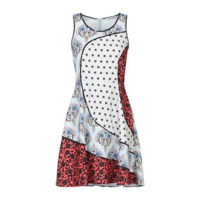 シルビアンヒーチ SILVIAN HEACH ミニワンピース&ドレス スカイブルー S ポリエステル 100% ミニワンピース&ドレス
