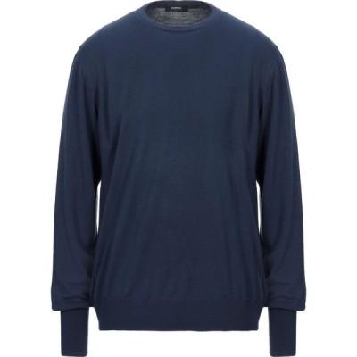 アルファス テューディオ ALPHA STUDIO メンズ ニット・セーター トップス sweater Slate blue
