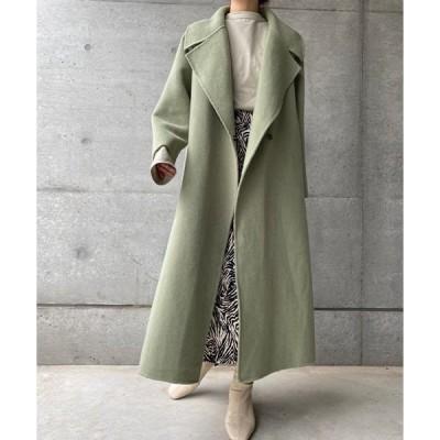 コート チェスターコート Natural wool coat