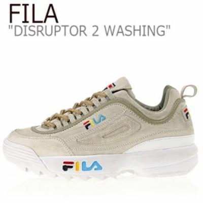 フィラ ディスラプター スニーカー FILA DISRUPTOR 2 WASHING ディスラプター2ウォッシング GRAY FS1HTA3112X FLFL9S1U21 シューズ