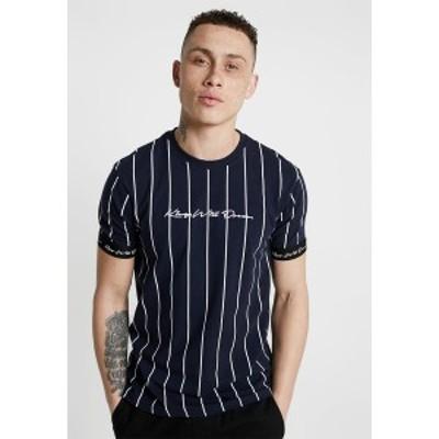キングズ ウィル ドリーム メンズ Tシャツ トップス CLIFTON - Print T-shirt - navy/white navy/white