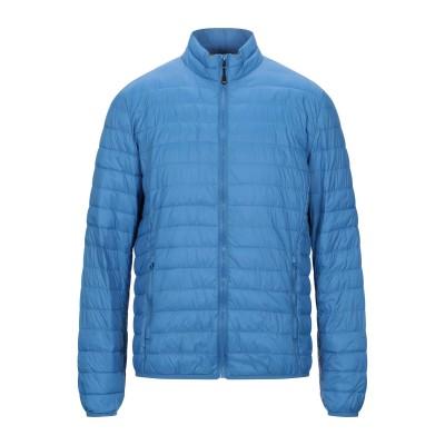 MR MASSIMO REBECCHI 合成繊維中綿アウター ブルー L ナイロン 100% 合成繊維中綿アウター