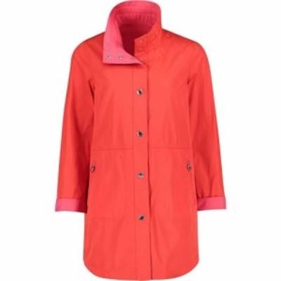 ベティー バークレイ Betty Barclay レディース ジャケット フード アウター hooded crossover jacket Tomato
