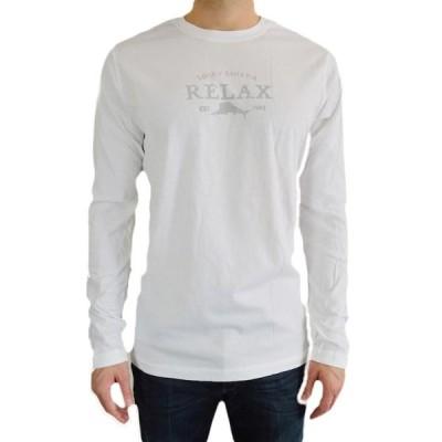 トミーバハマ  TシャツTommy BAHAMA メンズ GRAPHIC TEE ' クラシック RELAX' 100% コットン CREWNECK L/S