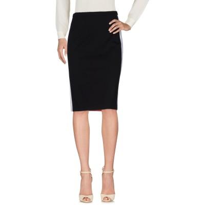 アイスバーグ ICEBERG ひざ丈スカート ブラック 42 レーヨン 69% / ナイロン 26% / ポリウレタン 5% ひざ丈スカート