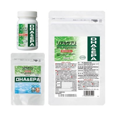 リアルサプリ DHA&EPA M(アルミ袋)|2760-393657