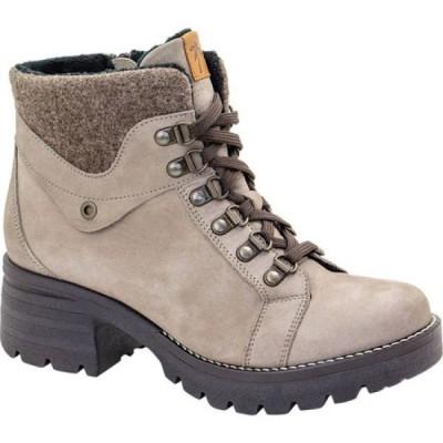 ドロミダリス Dromedaris レディース ブーツ レースアップブーツ シューズ・靴 Kodiak Burel Lace Up Boot Taupe Suede