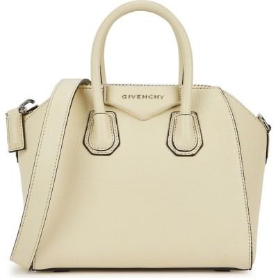 ジバンシー Givenchy レディース ハンドバッグ バッグ Antigona Small Leather Top Handle Bag Yellow