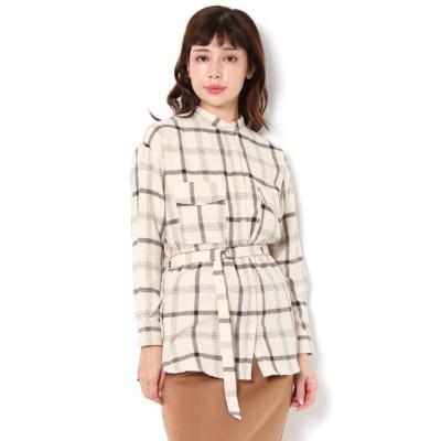 【テチチ/Te chichi】 ネルチェックシャツ LS
