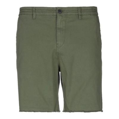 SCOUT ショートパンツ&バミューダパンツ  メンズファッション  ボトムス、パンツ  ショート、ハーフパンツ ミリタリーグリーン