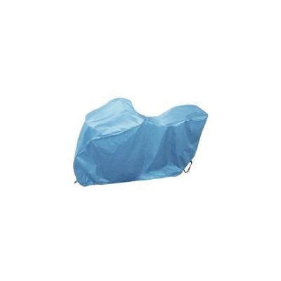 サイクルカバー (後カゴ付対応) クールブルー SAR140