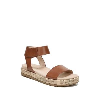 ソウルニュトライザー レディース サンダル シューズ Detail Ankle Strap Sandal - Wide Width Available TOFFEE