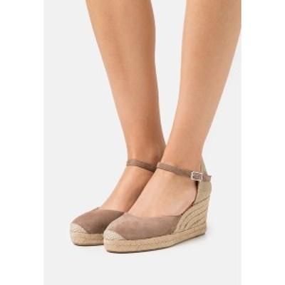 ウニサ レディース サンダル シューズ CACERES - Platform sandals - funghi funghi