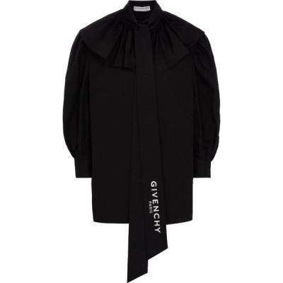 ジバンシー Givenchy レディース ブラウス・シャツ トップス Cotton poplin blouse Black