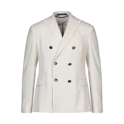 メッサジェリエ MESSAGERIE テーラードジャケット ベージュ 48 59% コットン 41% ラミー テーラードジャケット