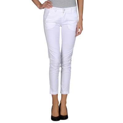 BARBA Napoli パンツ ホワイト 25 コットン 97% / ポリウレタン 3% パンツ
