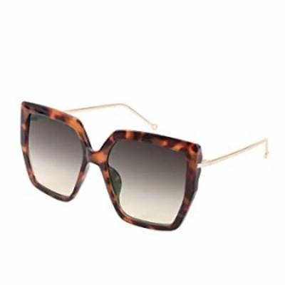 FEISEDY Oversize Irregular Square Charm Sunglasses Metal Modern Men Women UV400 Sun Glasses B2746