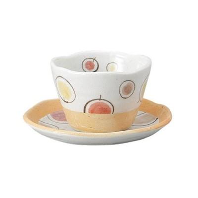 洋食器 カップ&ソーサー / 風船ピンクコーヒーC/S 寸法: C:10 x 7cm 260cc S:15 x 2.3cm