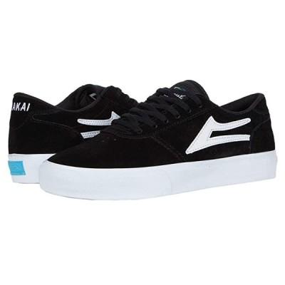 Lakai Manchester メンズ スニーカー 靴 シューズ Black Suede 2