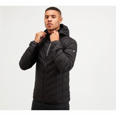 イーエーセブン EA7 メンズ ジャケット アウター shield tech jacket Black