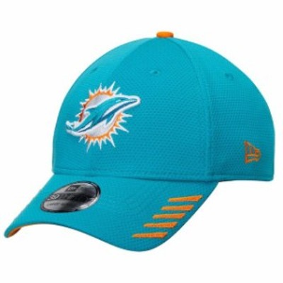 New Era ニュー エラ スポーツ用品  New Era Miami Dolphins Aqua Tech Grade 39THIRTY Flex Hat