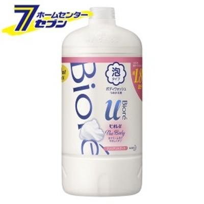 ビオレu ザ ボディ 泡タイプ ブリリアントブーケの香り (つめかえ用) 800ml  花王 kao