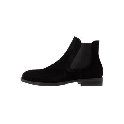 セレクテッドオム ブーツ&レインブーツ メンズ シューズ SLHLOUIS CHELSEA BOOT - Classic ankle boots - black