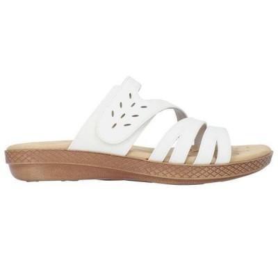 イージーストリート レディース サンダル シューズ Alma Slide Sandals