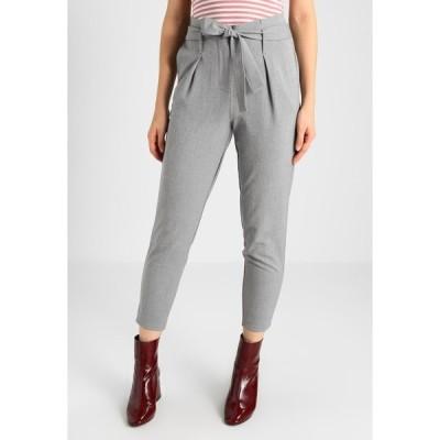 オンリー カジュアルパンツ レディース ボトムス ONLNICOLE PAPERBAG  - Trousers - light grey