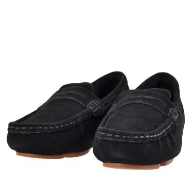 レディース 靴 ドライビングシューズ マドラス モデロ 天然皮革 スリッポン 送料無料 ブラックベロア MOD231BLA-V