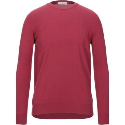 アルファス テューディオ ALPHA STUDIO メンズ ニット・セーター トップス sweater Red