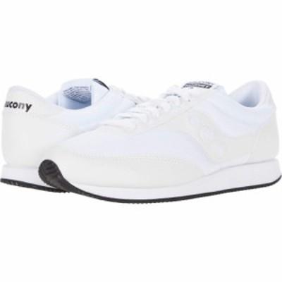 サッカニー Saucony Originals レディース スニーカー シューズ・靴 Hornet White/White