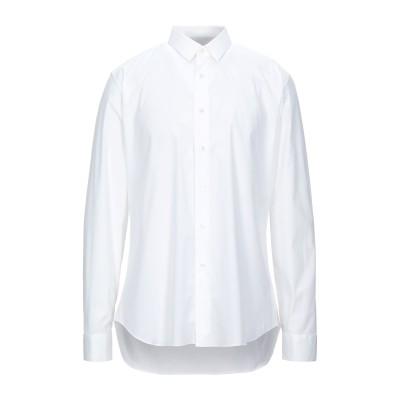 CELLINI シャツ ホワイト 38 コットン 96% / ポリウレタン 4% シャツ