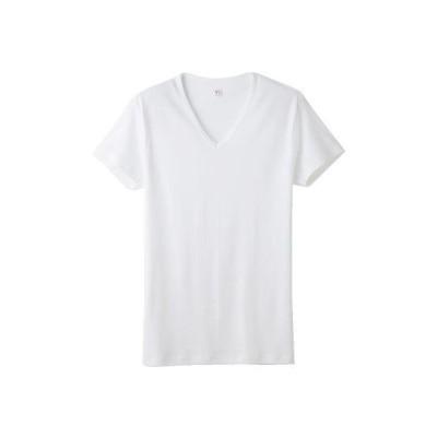 [グンゼ] インナーシャツ YV0015 メンズ ホワイト 日本 M-(日本サイズM相当)