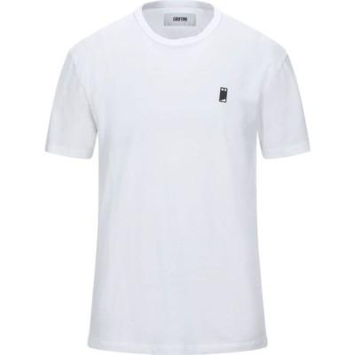 マウロ グリフォーニ MAURO GRIFONI メンズ Tシャツ トップス t-shirt White