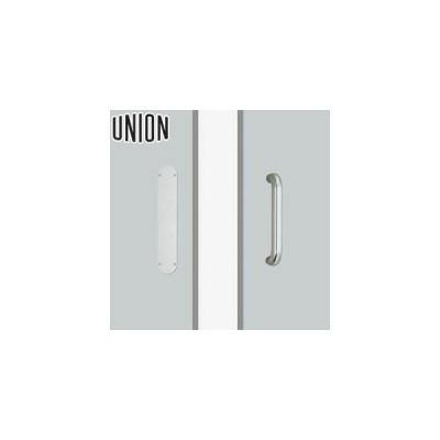UNION(ユニオン) T5612-01-001-L500 ドアハンドル プレート 1セット(内外) [ネオイズム]