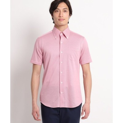 adabat(Men)(アダバット(メンズ))【吸水速乾/UVカット】アダバット×HITOYOSHI SHIRTS 半袖シャツ
