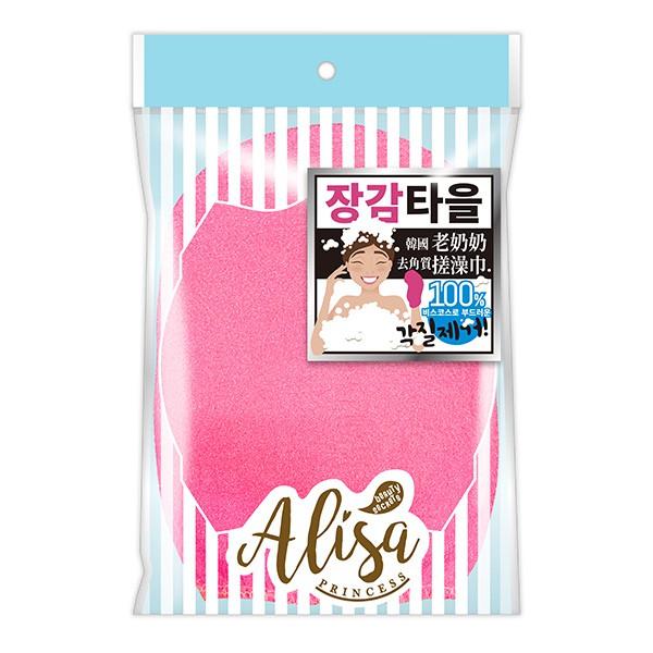 艾莉莎公主韓國去角質搓澡巾(混色)【康是美】