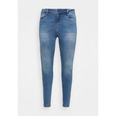 ノイジー メイ カーブ レディース デニムパンツ ボトムス NMAGNES SUPER - Jeans Skinny Fit - light blue denim light blue denim