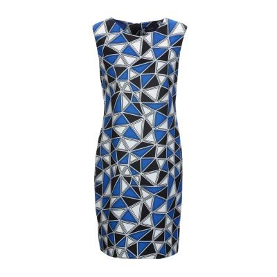 VIEW ミニワンピース&ドレス ブルー 46 ポリエステル 95% / ポリウレタン 5% ミニワンピース&ドレス