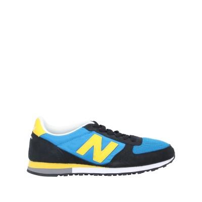 ニュー・バランス NEW BALANCE スニーカー&テニスシューズ(ローカット) アジュールブルー 10.5 紡績繊維 / 革 スニーカー&テニス