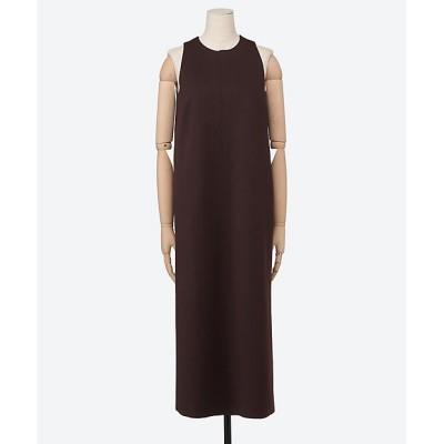 <PHEENY(Women)/フィーニー> Amunzen american sleeve dress CHOCOLATE【三越伊勢丹/公式】