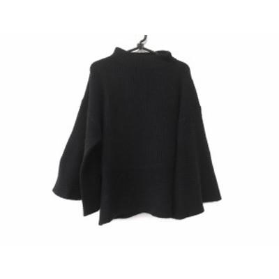 アドーア ADORE 長袖セーター サイズ38 M レディース ネイビー ハイネック【中古】20200702