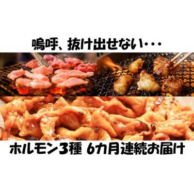 【6カ月連続】内臓天国 ~3種のホルモンセット~