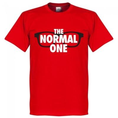 SOCCER ユルゲン・クロップ リバプール Tシャツ The Normal One T-Shirt RETAKE レッド