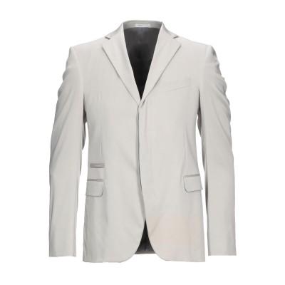 アルマーニ コレッツィオーニ ARMANI COLLEZIONI テーラードジャケット ライトグレー 50 テンセル 67% / ナイロン 29%