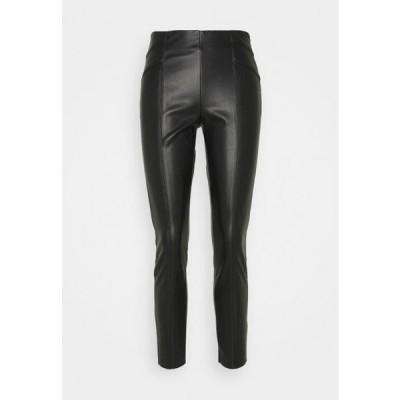 オンリー レディース ファッション ONLJOLEE CUT - Leggings - Trousers - black